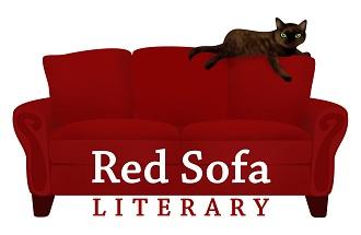 Attractive Red Sofa Literary